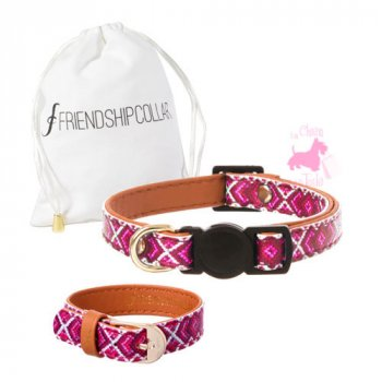 "Collier CHAT + Bracelet ""MISS PURRFECT"" - FRIENDSHIPCOLLAR"
