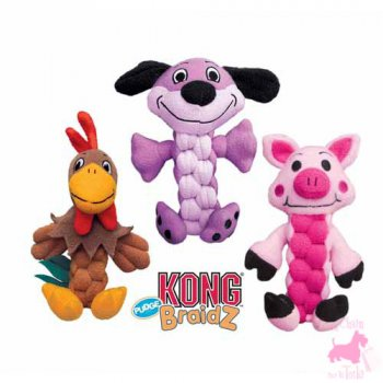 "Peluche ""Pudge BraidZ"" - KONG"