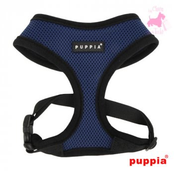 "Harnais PUPPIA ""Soft Harness A"" Royal Blue"