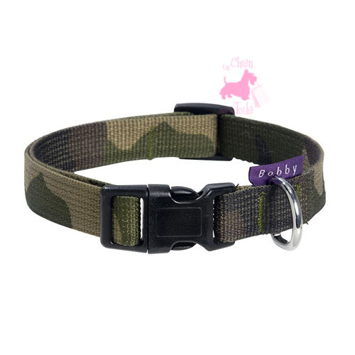 "Collier ""Camouflage"" - BOBBY"