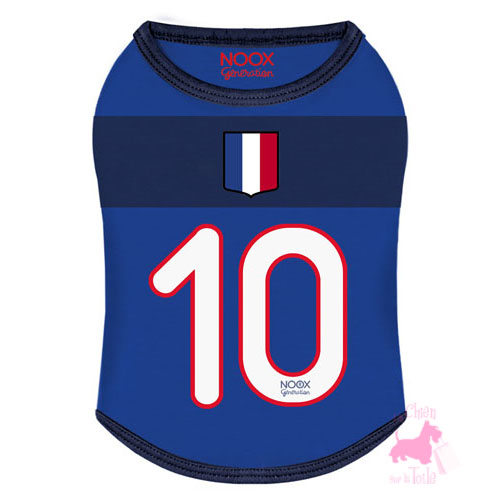 "Tee-Shirt Football ""Supporter France"" - NOOX"