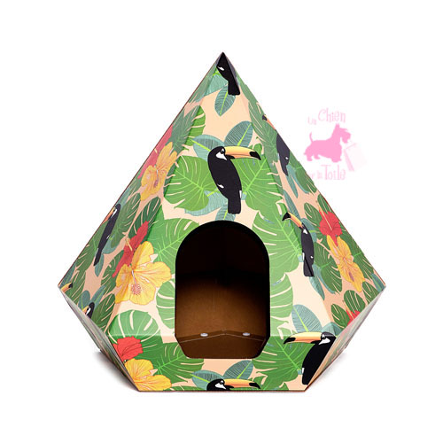 "Cachette CAT DIAMOND ""Toucan"" - HUTS AND BAY"