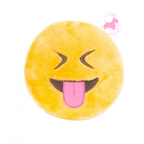 "Peluche EMOJIZ ""Tongue Out"" - ZIPPY PAWS"