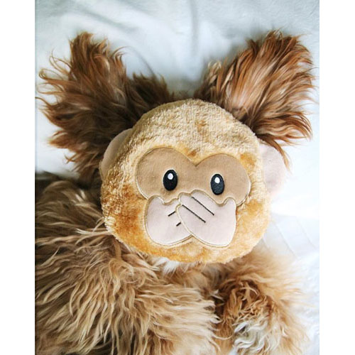 "Peluche EMOJIZ ""Monkey"" - ZIPPY PAWS"