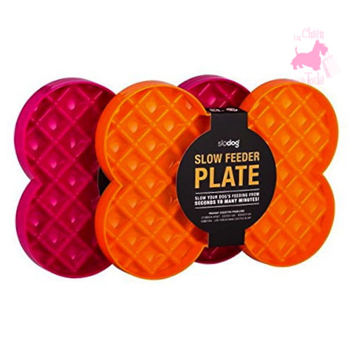 "Gamelle ""Slow Feeder Plate"" - SLO DOG"