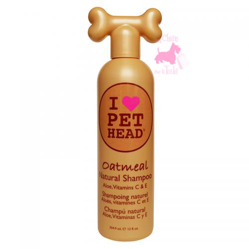 "Shampooing naturel ""Oatmeal"" - PET HEAD"