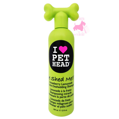 "Shampooing miracle chute de poils ""De Shed Me""- PET HEAD"