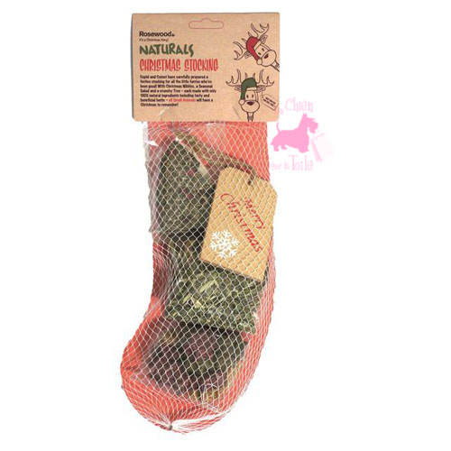 "Chaussette Noël NAC ""Naturals Christmas Stocking"" - ROSEWOOD"