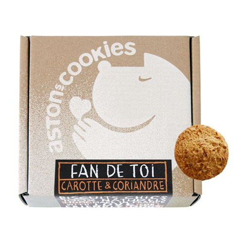 "Biscuits ""Fan de Toi "" - ASTON'S COOKIES"