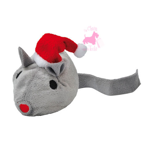 Souris de Noël à la valériane  -  BAVARIAN CAT TOY