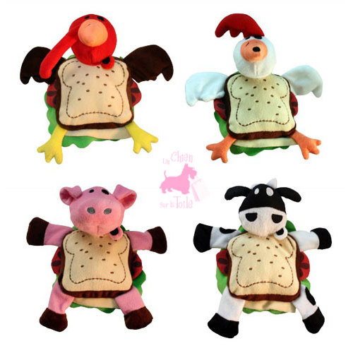 "Sandwichs ""Silly Animals"" - MULTIPET"