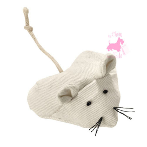 "Souris Coeur Canvas ""Hearty Mouse"" - HUNTER"