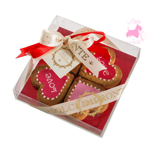 "Coffret gourmand ""Love Four Hearts"" - DOLCI IMPRONTE"
