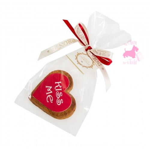"Biscuit Coeur ""Kiss Me"" - DOLCI IMPRONTE"
