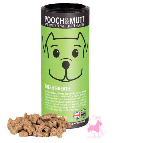 "Friandises ""Fresh Breath"" - POOCH & MUTT"