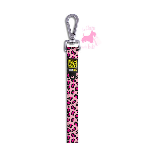 "Laisse ""Pink Leopard"" - MAX & MOLLY"