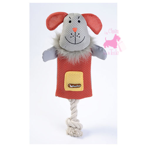 "Peluche Multifonctions ""Happy Dog"" - TOPZOO"