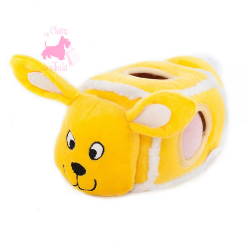 "Peluche Puzzle BURROW ""Hide 'n Egg Bunny"" - ZIPPY PAWS"