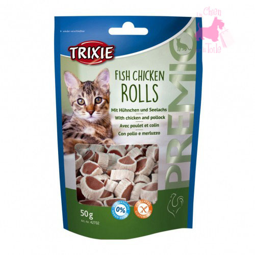 "Friandises ""Premio Fish Chicken Rolls"" - TRIXIE"