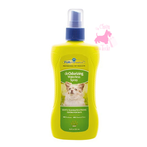 "Shampooing sec ""Deodorizing waterless spray"" - FURMINATOR"