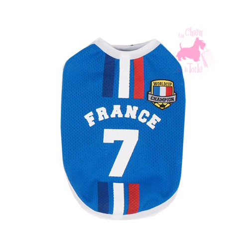 "Maillot Football ""Equipe de France"" - PARIS DOG"