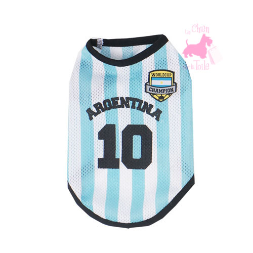 "Maillot Football ""Equipe d'Argentine"" - PARIS DOG"