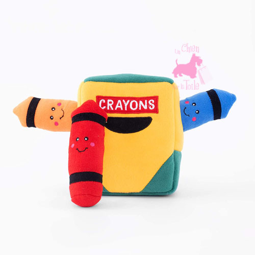 "Peluche Puzzle BURROW ""Crayon Box"" - ZIPPY PAWS"