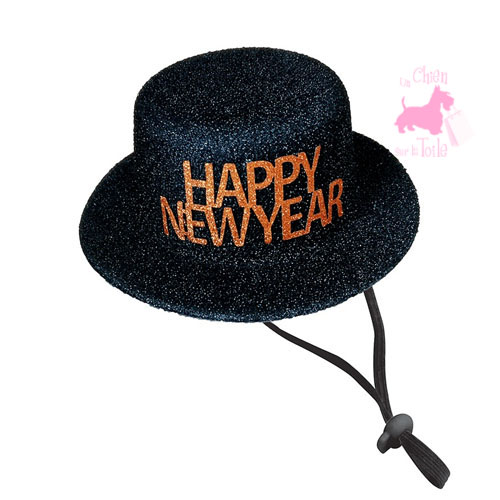 "Chapeau pailleté ""Happy New Year"" - CROCI"