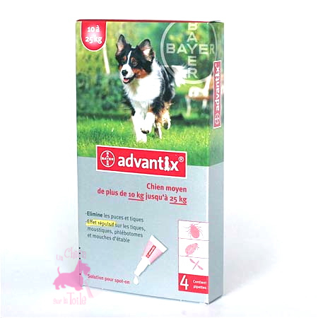 ADVANTIX 10-25 kg - BAYER