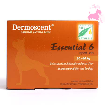 ESSENTIAL 6 SPOT ON POUR CHIEN - DERMOSCENT