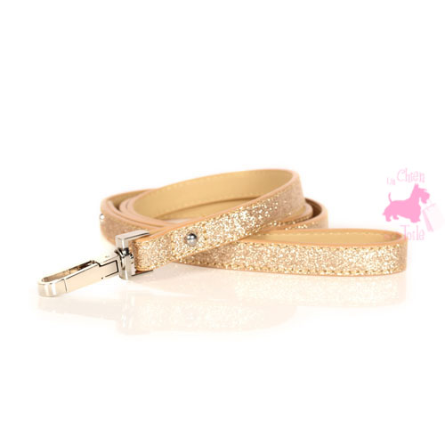 "Laisse ""Stardust GOLD"" - MILK & PEPPER"