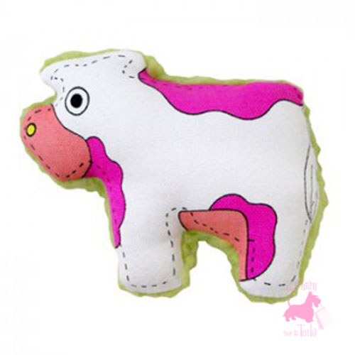 "Peluche sonore  ""Merry Moo"" - PETSTAGES"