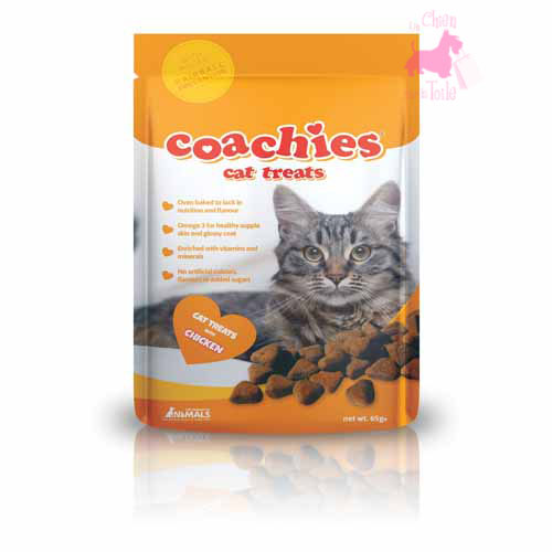 "Friandises anti-boules de poils  ""Coachies Cat Treats"" - Chat"