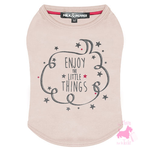 "Tee-shirt  ""Enjoy""- MILK & PEPPER"