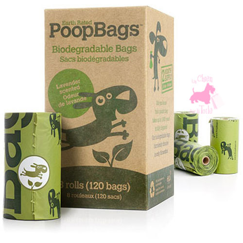 "Recharge de sacs de propreté ""POOP BAGS"" - EARTH RATED"