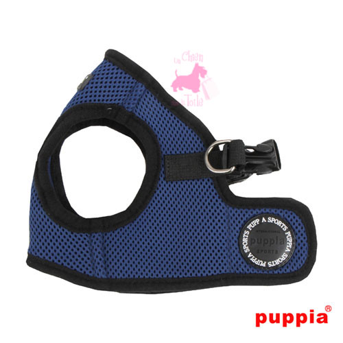 "Harnais Veste PUPPIA ""Soft Vest Harness B"" Royal Blue"