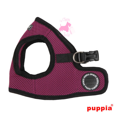 "Harnais Veste PUPPIA ""Soft Vest Harness B"" Purple"