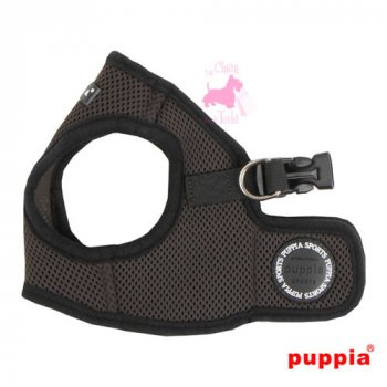 "Harnais Veste PUPPIA ""Soft Vest Harness B"" Brown"