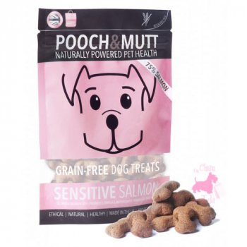 "Friandises ""Sensitive Salmon"" - POOCH & MUTT"
