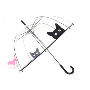 "Parapluie Cloche ""Chat Noir"""