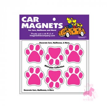 "Mini magnets  ""Pink Paws"""