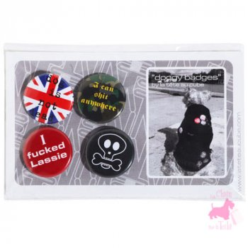 Doggy Badges - LA TÊTE AU CUBE